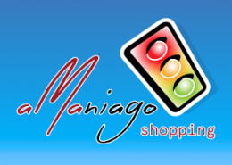 AMAniago Shopping - promotional flyer mobile app